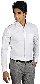 ZAKOD Cotton Plain Shirts for Men for Daily Use
