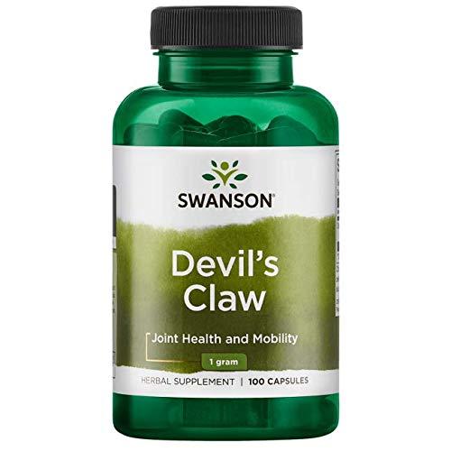 Teufelskralle 500 mg , 100 Kapseln Grösse 00 Swanson Health Products