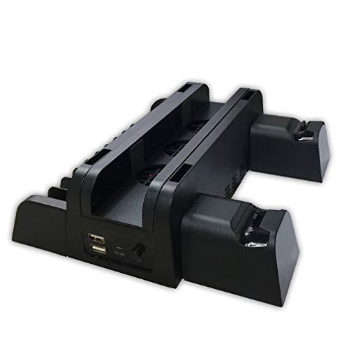 aixu para Accesorios De Ps4 Ps4 Ps4 Slim Ps4 Pro Ventilador De Refrigeración De Consola Vertical Negro