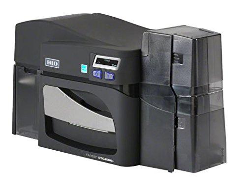 Fargo dtc4500simple face cartes Imprimante–Double Carte D'Entrée Hopper (standard) avec Ethernet avec encodeur Mag