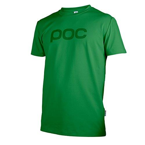 POC Trail Tee - Camiseta MTB unisex, color verde, talla XS