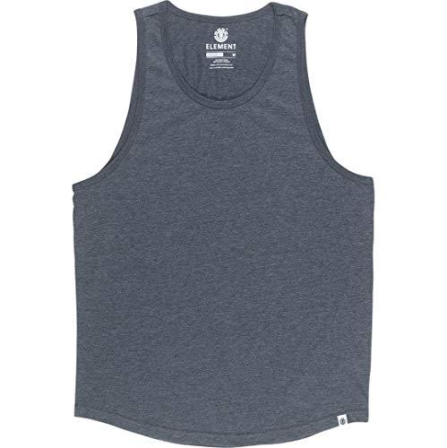 Element Basic Tank, T-Shirt Uomo, Charcoal Heathe, XS