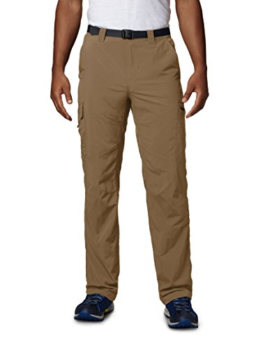 Columbia Silver Ridge Cargo Pant_AM8007 Pantalon Homme, Marron-Delta1, Taille : 30