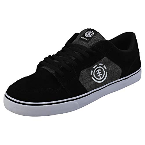 Element - Zapatillas de Tela para Hombre, Color Negro, Talla 40.5 EU