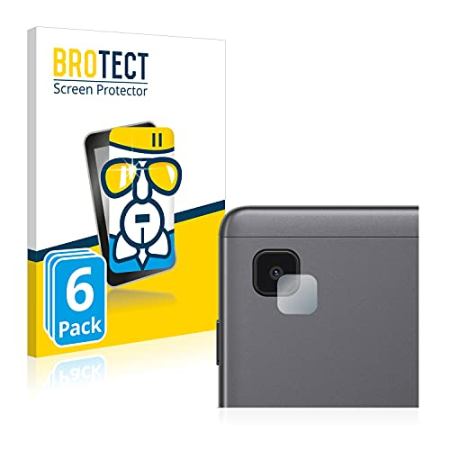 BROTECT Protector Pantalla Cristal Compatible con Samsung Galaxy Tab A7 Lite Wi-Fi 2021 (SÓLO Cámara) Protector Pantalla Vidrio (6 Unidades)