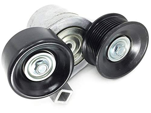 Serpentine Belt Tensioner Accessory with Pulleys - Compatible with 1999-2003...