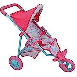 Dolls World 8190 3 Wheel Folding Stroller