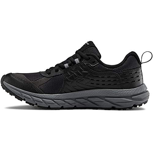 Under Armour Women's Charged Toccoa 2 Hiking Shoe, Black (001)/Pitch Gray, 8