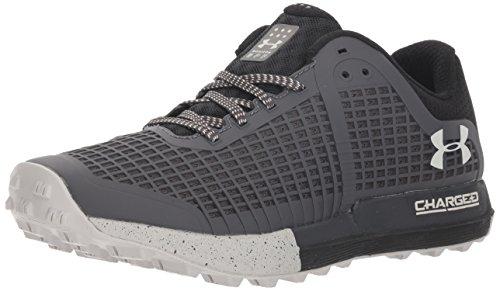 Under Armour Women's Horizon BPF Washed Running Shoe, Charcoal (100)/Black, 9.5