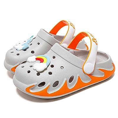 KUBUA Kids Garden Clogs Slip On Water Shoes for Boys Girls