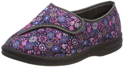 PodoWell Damen Balan Niedrige Hausschuhe, Violett (Violett 7316710), 40 EU