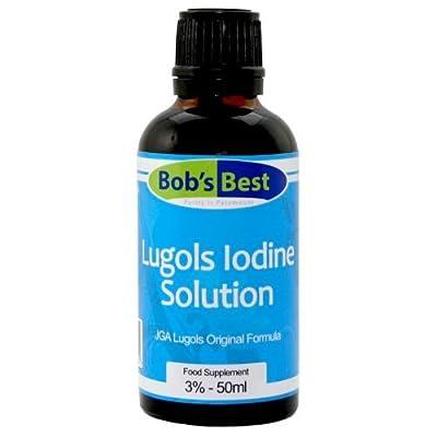 Lugols Iodine Solution - 3% - 50ml