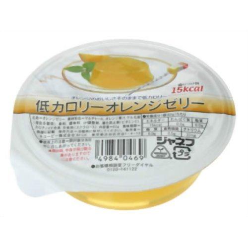 ジャネフ 低カロリーオレンジゼリー(62g)×30個