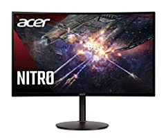 """27 wqhd (2560 x 1440) widescreen va display with adaptive-sync technology technology"""" 1500r curved 