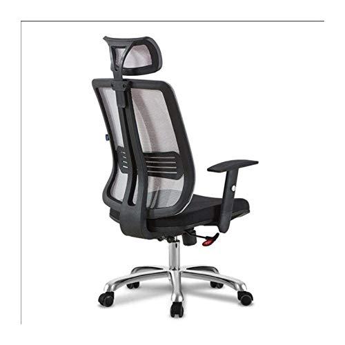 YONGYONGCHONG Silla de oficina ergonómica silla de oficina, reposacabezas ajustable y soporte lumbar, silla de computadora de respaldo alto