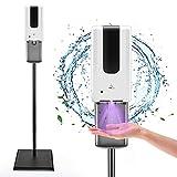 Kacsoo Dispensador Automático de Jabón, Dispensador automático de Gel para Manos 1200ml dispensador de Gel desinfectante dosificador automático higienizante para el hogar, la Oficina, Hotel