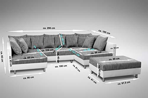 Ecksofa Couch –  günstig Küchen-Preisbombe Sofa Couch Bild 2*