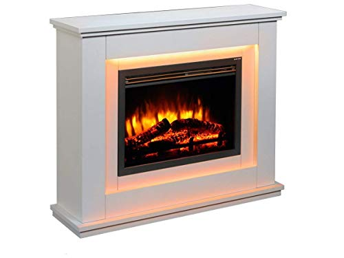 Endeavour Fires Castleton Electric Fireplace Suite 7day Programmable Remote Control