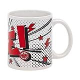 "Eintracht Frankfurt Kaffeebecher Tasse /""Comic/"""