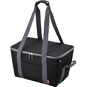 サーモス 保冷買い物カゴ用バッグ 25L ブラック REJ-025 BK