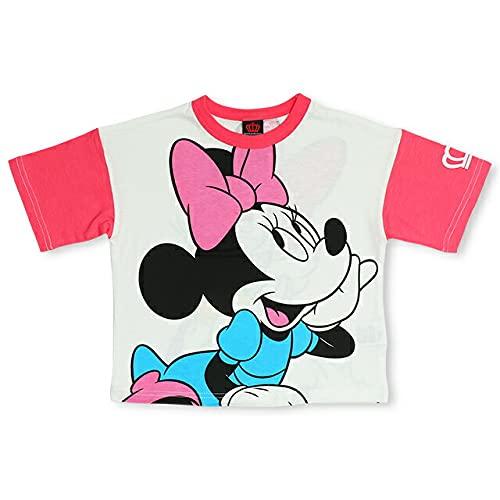 BABYDOLL(ベビードール)ディズニー ネオンBIGキャラクターTシャツ 4931K 90cm ミニー&デイジー