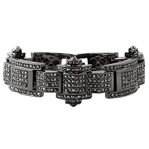 Hip Hop Heren armband Chunky Ice Micro bestrating 3 cm breed 23 cm lange Bling angst mannen Cubaanse pols ketting verguld 24 k gouden armband