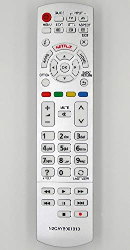 Ersatz Fernbedienung für Panasonic TV N2QAYB001010