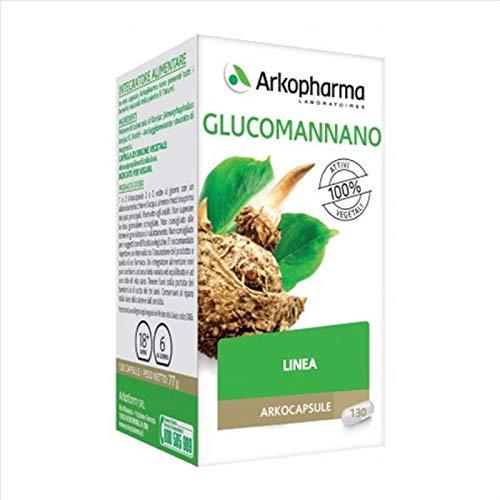 Arkopharma Arkocapsule - Glucomannano Integratore, 130 Capsule