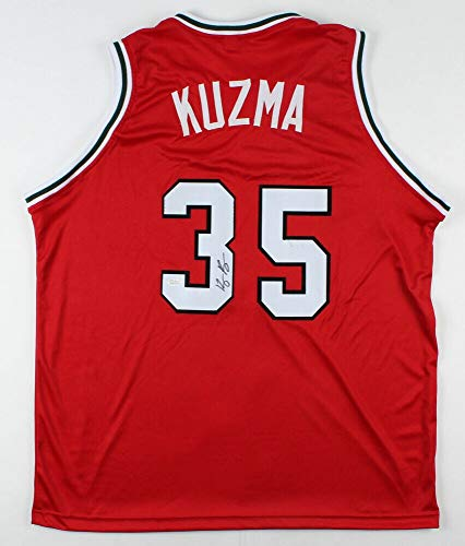 Kyle Kuzma Autographed Signed Utah Utes Jersey (JSA COA) L.A. Lakers 2017 1St Round Pick