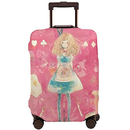 Alice in Wonderland - Paraguas portátil plegable y plegable con tres paraguas, White (Blanco) - 1