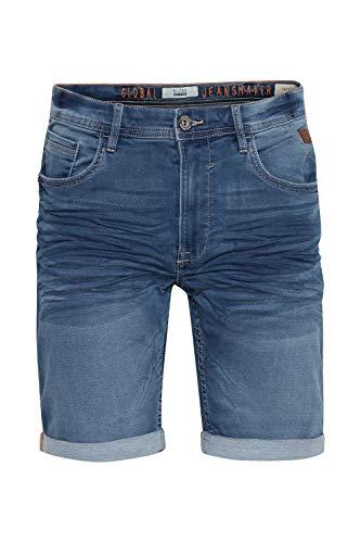 Blend Herren Jogg Twister Slim Shorts, Blau (Denim Light Blue 76200), W(Herstellergröße: XL)