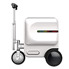 "DIMENSIONS: 19.25"" x 22.83"" x 14.37"" in Folded Position. With Just a Touch of a Button, You Can Convert This Luggage Into A Smart Rideable ""Scooter"" Suitcase Powered by Removable Lithium Battery. Turn On The Switch To Extend The Front Wheel And Exten..."