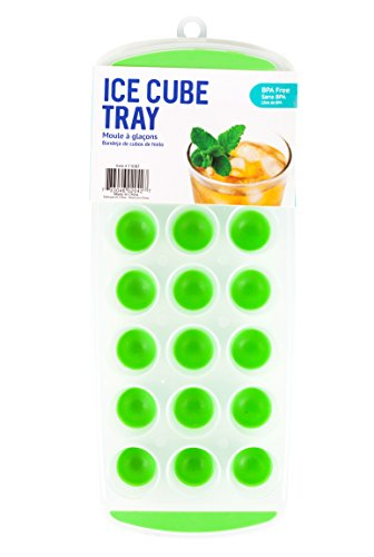 Good Living Silicone Mini Ice Cube Tray, assorted colors