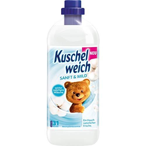 6er Vorratspack Kuschelweich Weichspüler 1000ml Sanft & Mild