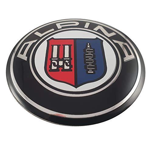 Ein weiteres LUDOSTREET Ref0002 Logo Emblem Anagrama passend für BMW 73 mm hinten Kofferraum Auto (Alpina)