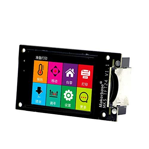 BZ 3D MKS TFT24 Touch Screen Smart Controller Display Support WIFI APP Cloud Printing Multi-language 3D Printer LCD Splash Screen