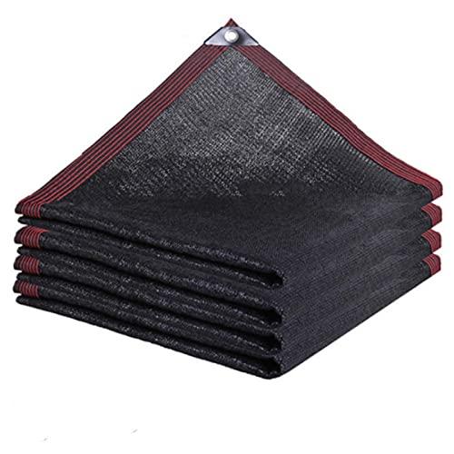 QNMD Shade Sail Parasol Red Exterior Jardín Paño De Protección Solar Bloqueador Solar De Coche Cubierta De Sombra Planta Cubierta De Invernadero Cubierta De Tela De Sombra B (2 * 3M)