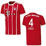 adidas Bayern Trikot Home Herren 2018 - SÜLE 4, Größe:XXXL
