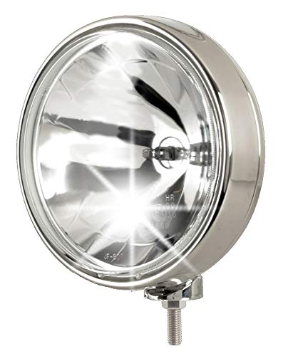 Euralight Fernscheinwerfer 211mm mit Standlicht 12 Volt und 24 Volt + Steinschlagschutzgitter~