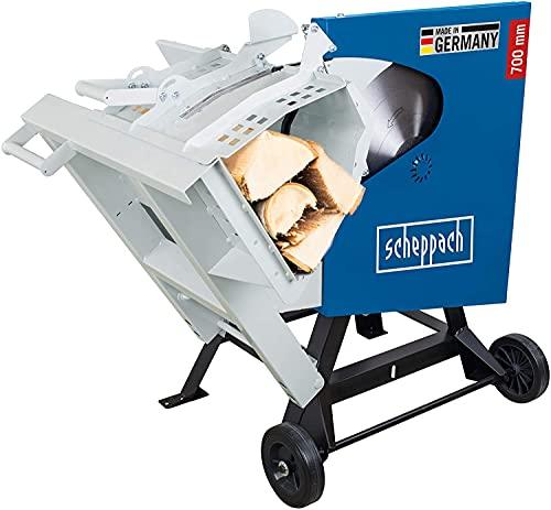 scheppach Wippsäge Brennholzsäge HS720 -230V | 3000W| Sägeblatt Ø 700mm | Schnitthöhe 60-240mm | max. Scheitholz 370 x 240 mm | Wendeschnitt max. 250 mm