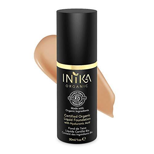 INIKA Certified Organic Liquid Mineral Foundation Beige