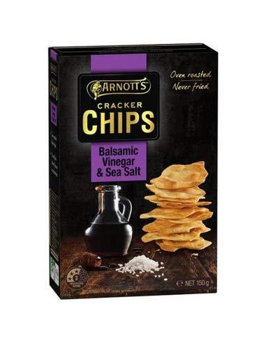 Arnotts Meersalz und Balsamico-Essig-Cracker-Chips 150gm