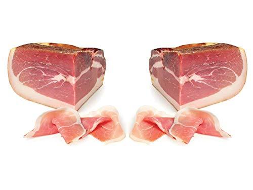 2 Tranci Prosciutto di Parma D.O.P. stagionato 30 mesi 2,5 kg, Provenienza : Langhirano (PARMA) (5 KG c.a. totali)