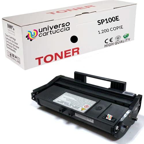 UniversoCartuccia® Toner compatibile per Ricoh 407166, SP 100LE, SP 100, SP 100e, SP 100SF, SP 100SFe, SP 100SU, SP 100SUe, SP 110, SP 112, SP 112e, SP 112SF, SP 112SFe, SP 112SU, SP 112SUe