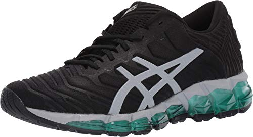 ASICS Women's Gel-Quantum 360 5 Shoes, 9M, Black/Piedmont Grey