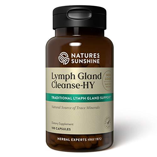 Nature's Sunshine Lymph Gland Cleanse-HY, 100 Capsules, Kosher