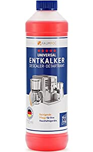 Descalcificador 750 ml para cafeteras automáticas y cafeteras – Compatible con todos los fabricantes I Cafetera automática I Cafetera monodosis I Máquina de café automática