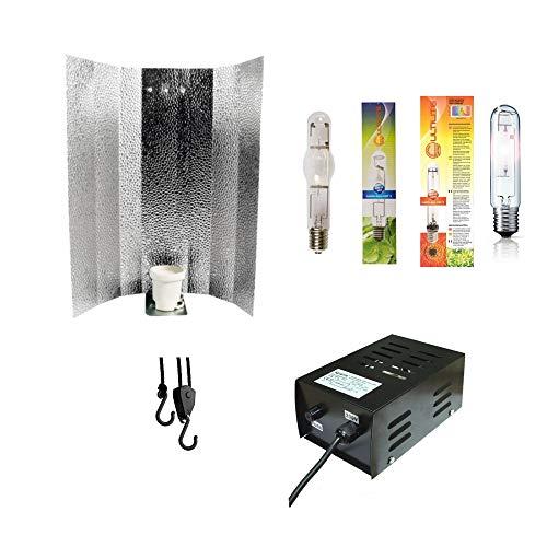 Beleuchtungs-Set Light Set 150W MH Wuchs NDL Blüte Vorschaltgerät Reflektor Grow