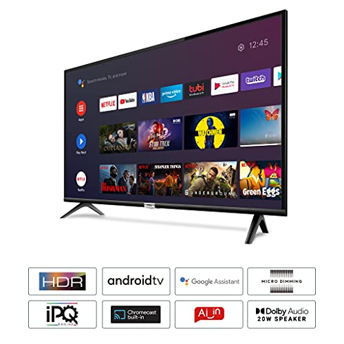 TCL 100 cm (40 inches) Full HD Certified Android Smart LED TV 40S6500FS (Black) (2020 Model) 2