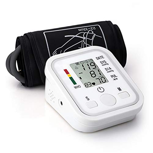 XISH Blood Pressure Monitor, Best Blood Pressure Monitors for Home Use Blood Pressure Monitor for Upper Arm Adjustable Large Cuff Accurate Measurement